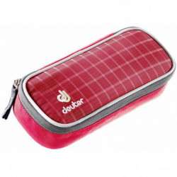 Пенал Deuter 2017-18 Pencil Case raspberry check